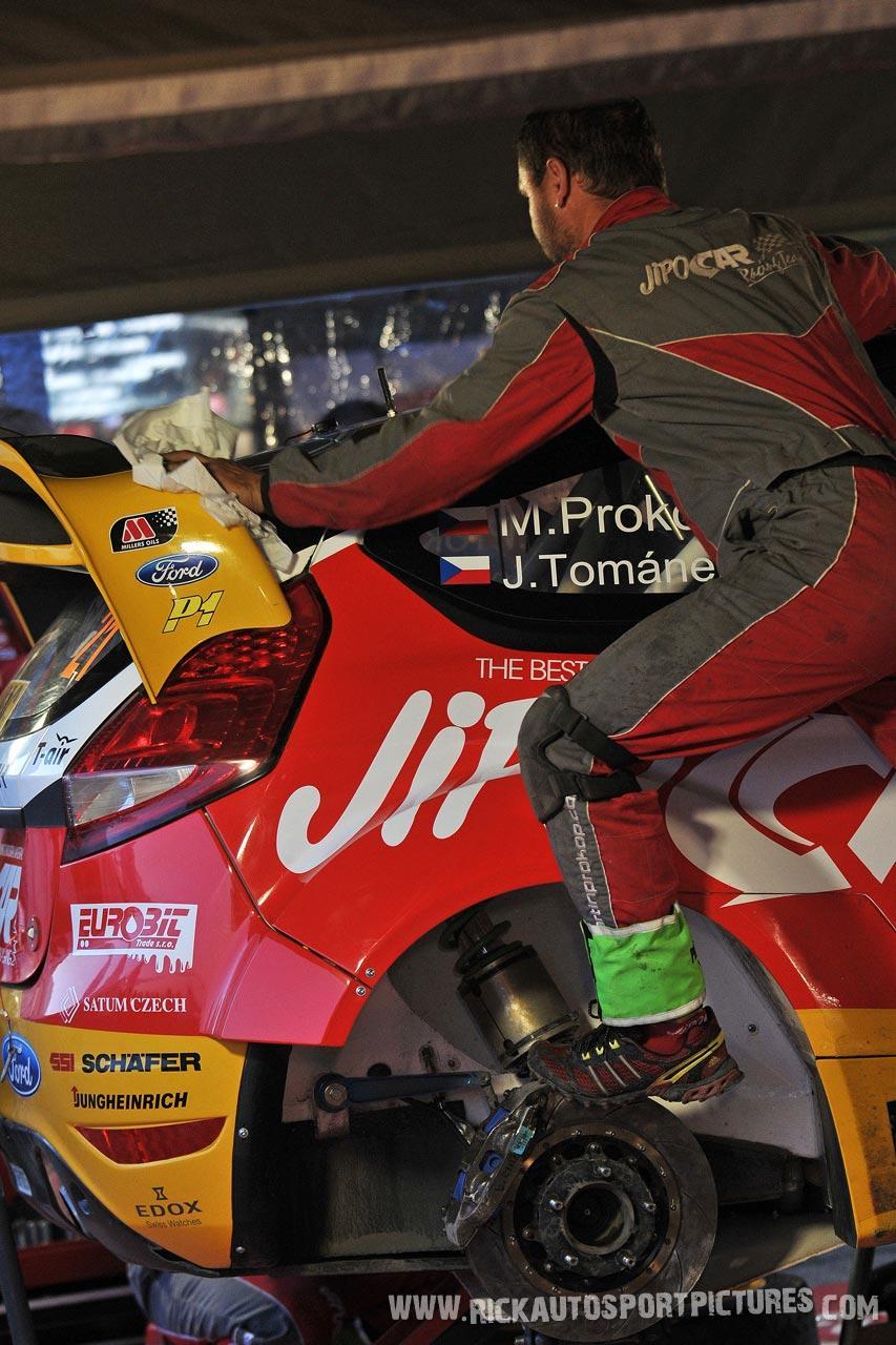 Team Jipocar Fiesta WRC