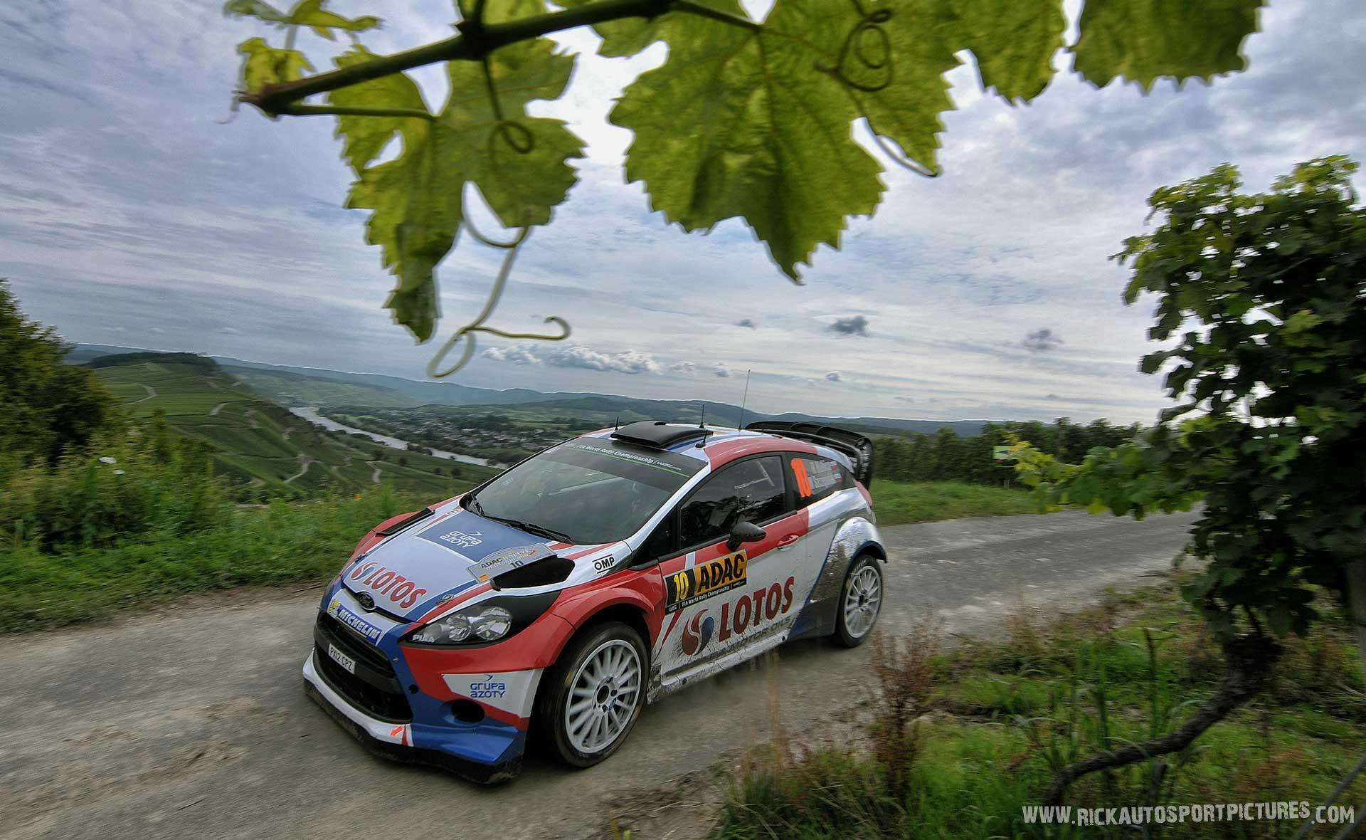Robert Kubica Deutschland Rally 2014