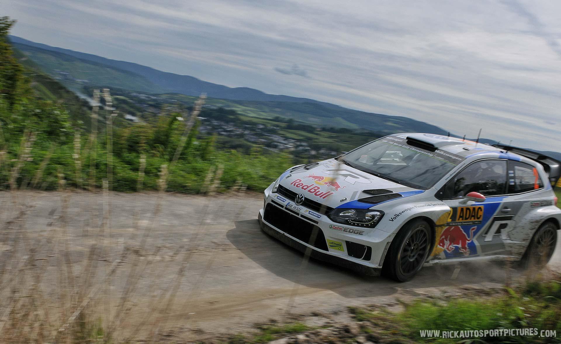 Jari-Matti Latvala Deutschland Rally 2014