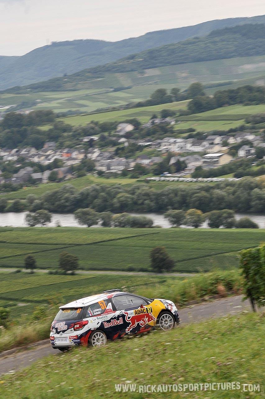 Stephane Lefebvre-WRC Deutschland -2014