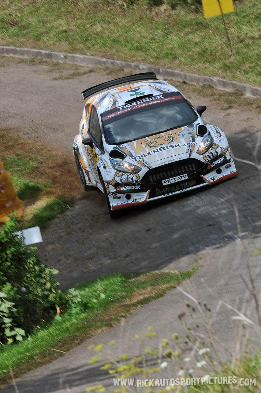 Marty McCormack Deutschland Rally 2014