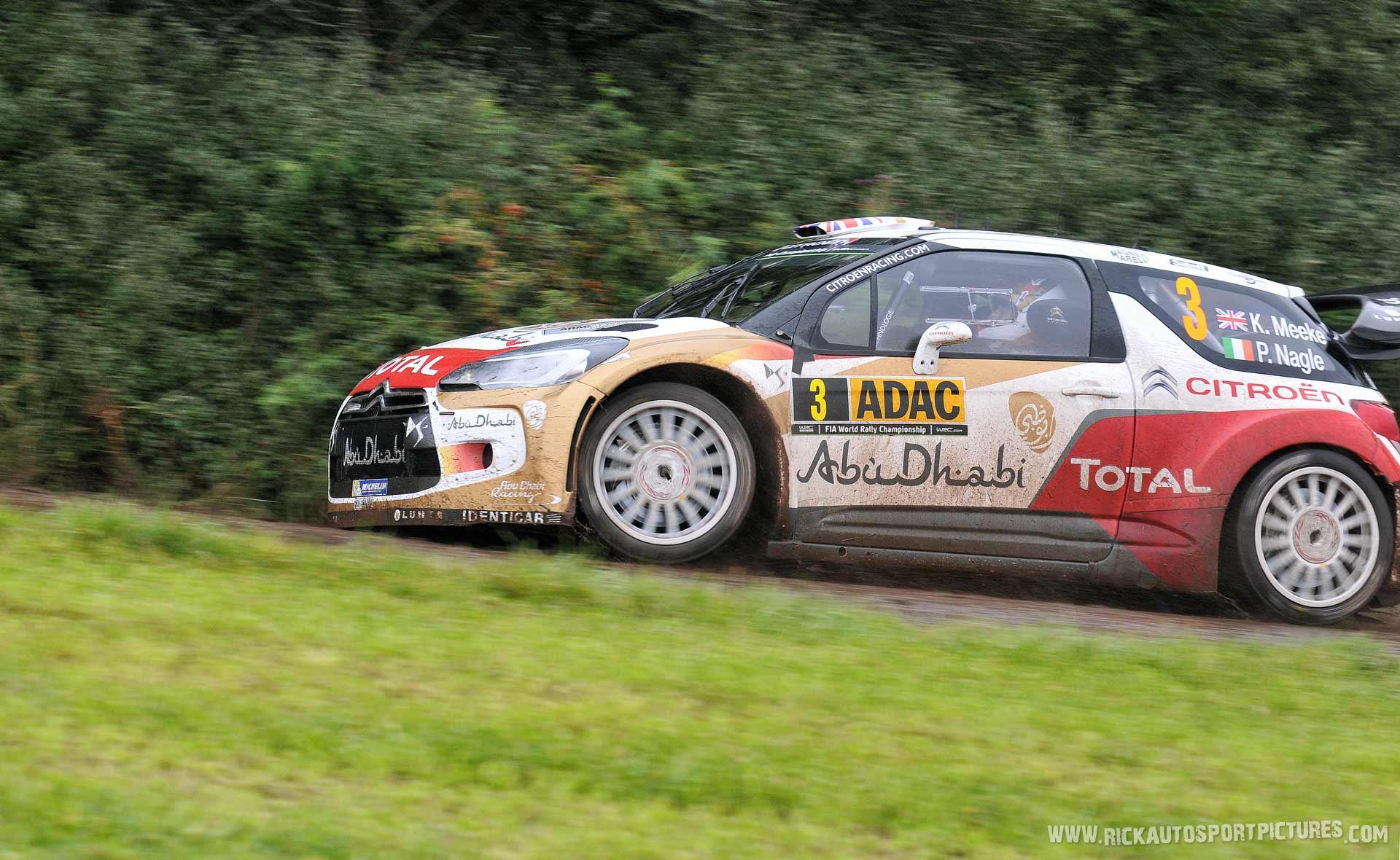 Kris Meeke Deutschland Rally 2014