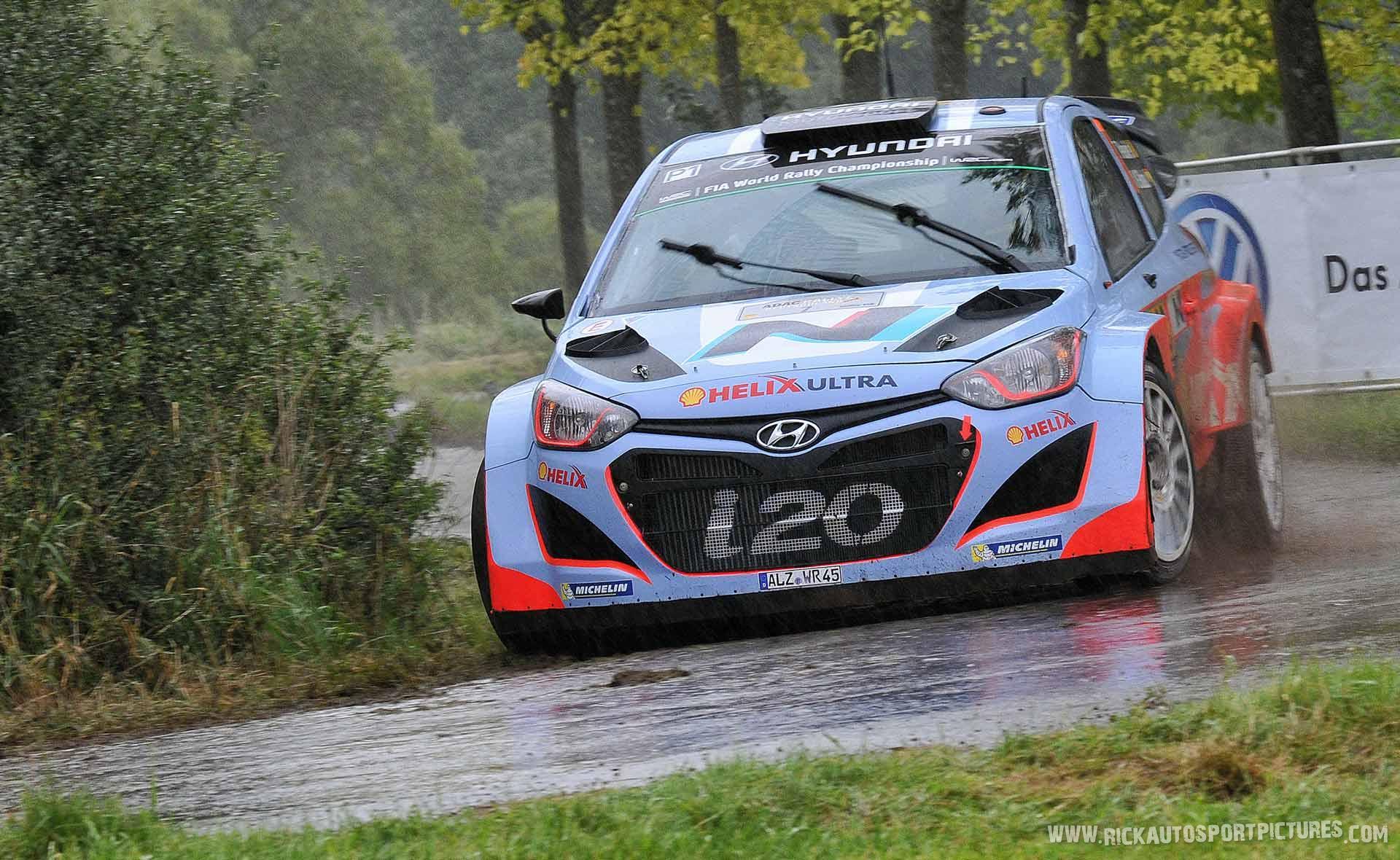 Thierry Neuville Deutschland Rally 2014