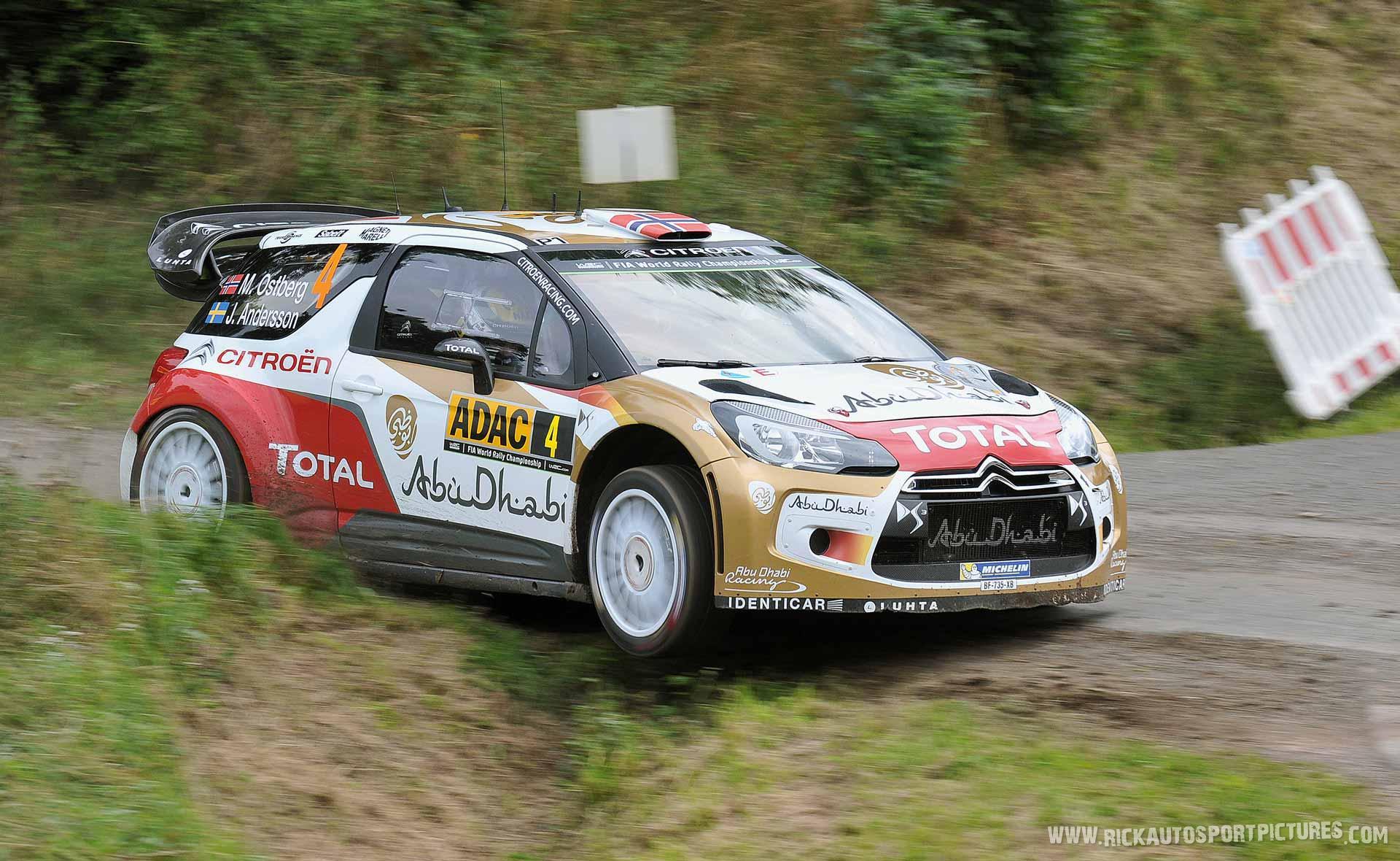 Mads Östberg Deutschland Rally 2014