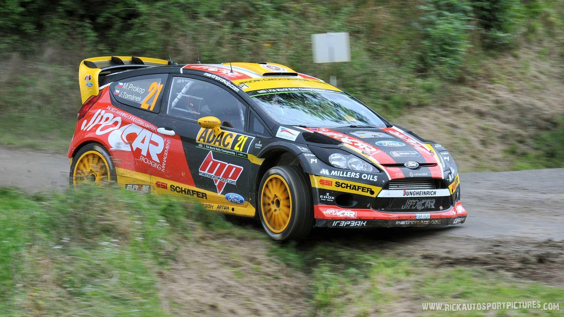 Martin Prokop Deutschland Rally 2014
