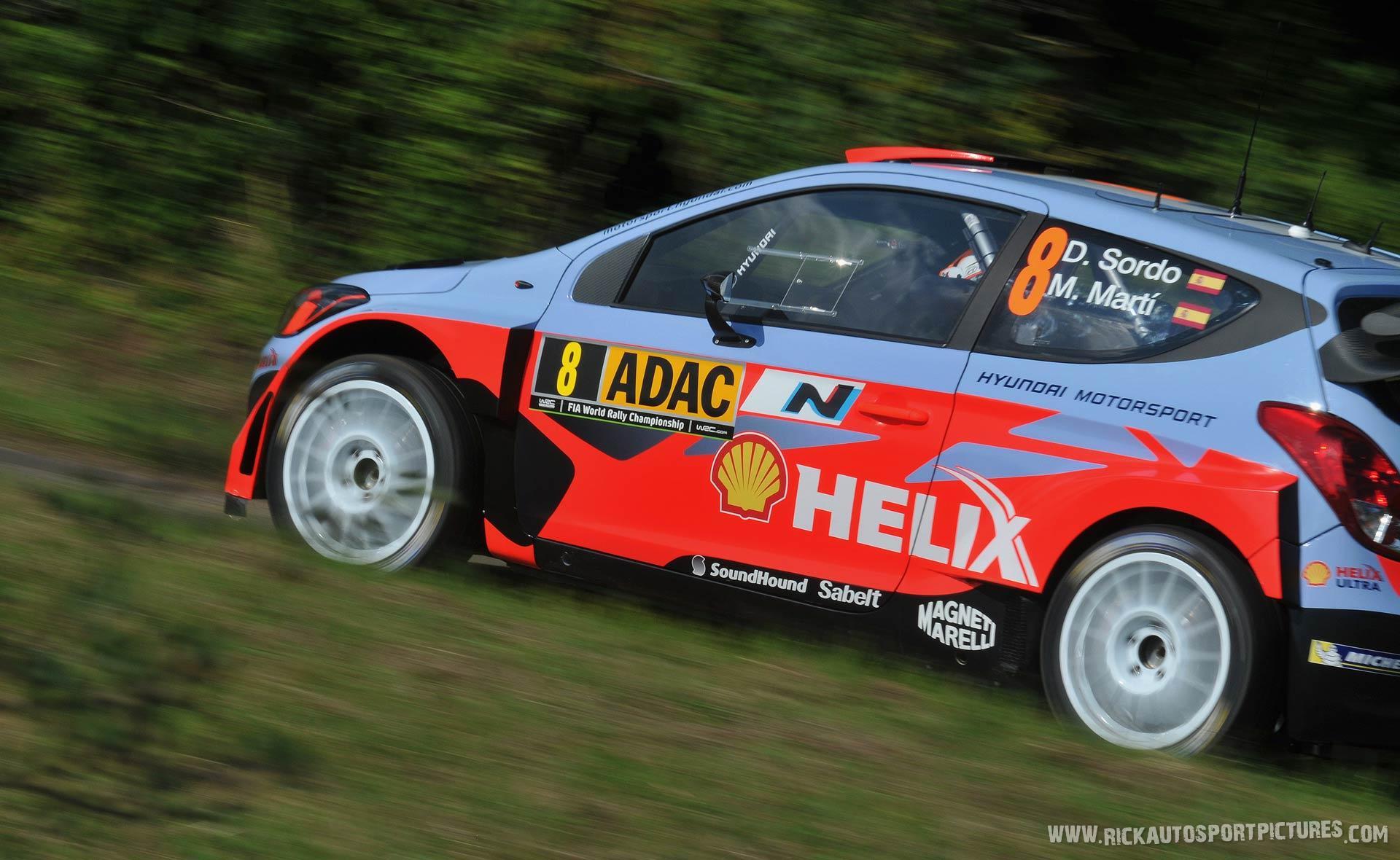 Dani Sordo Deutschland Rally 2014
