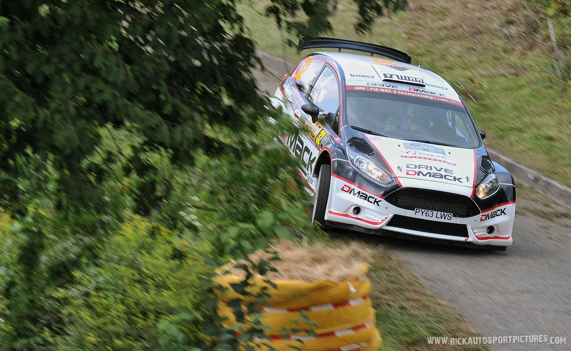 Ott Tänak Deutschland Rally 2014