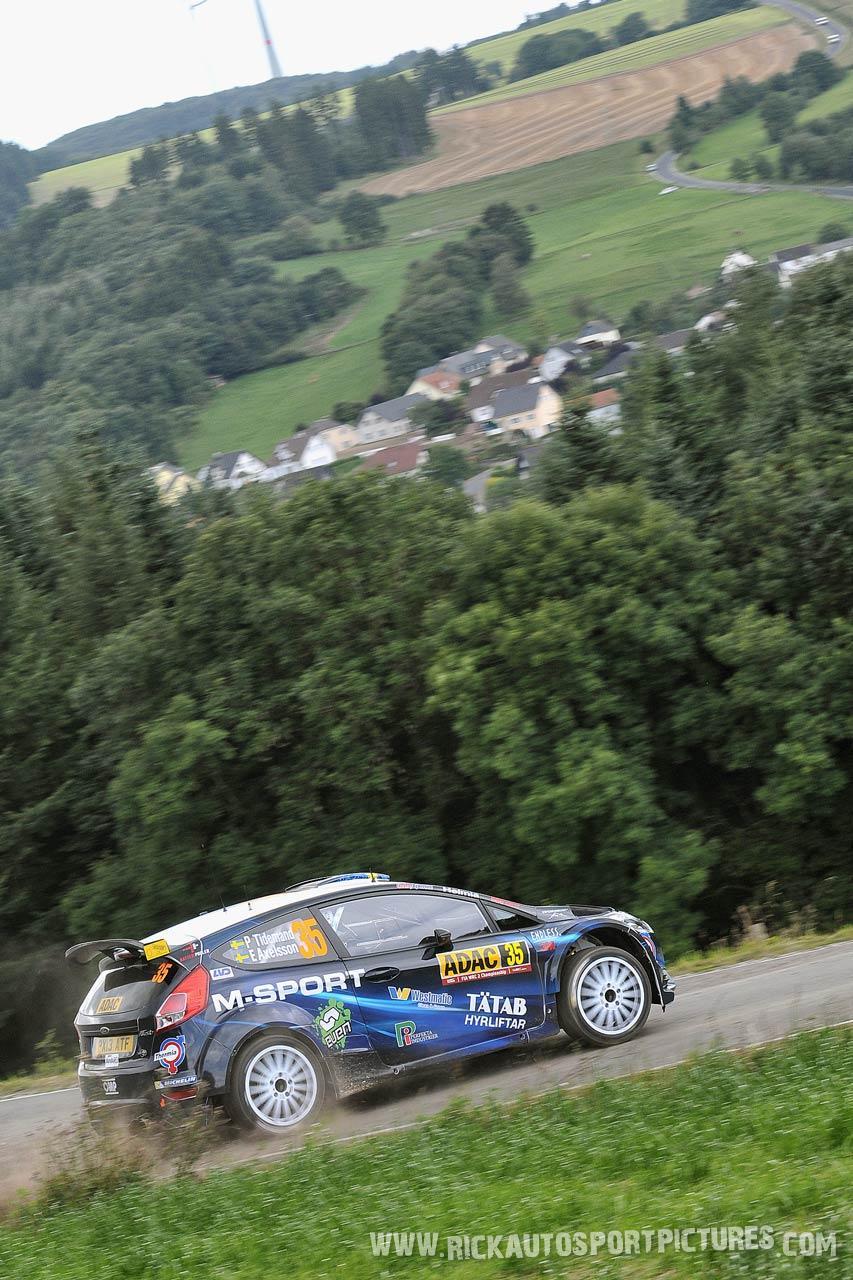 Pontus Tidemand Deutschland Rally 2014