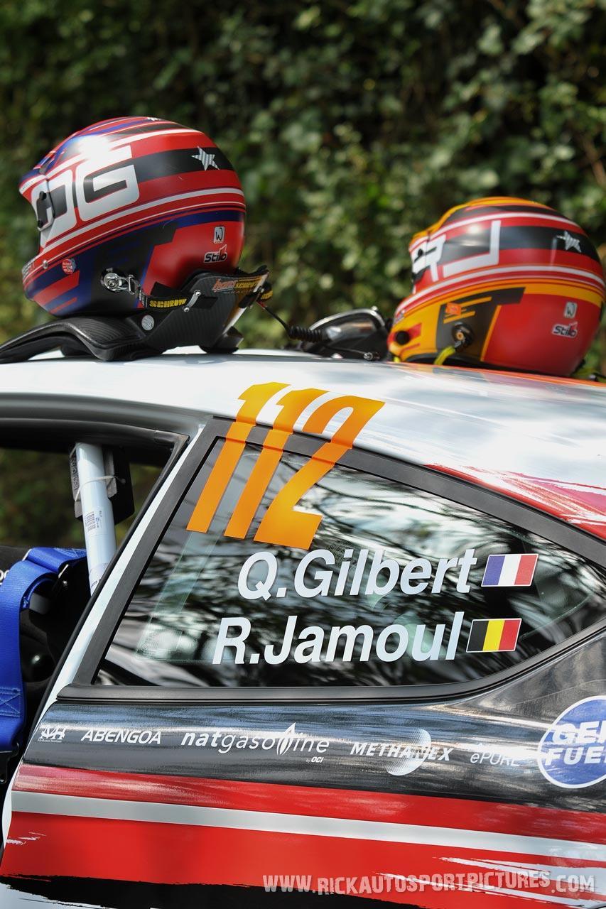 Quintin Gilbert Deutschland Rally 2014