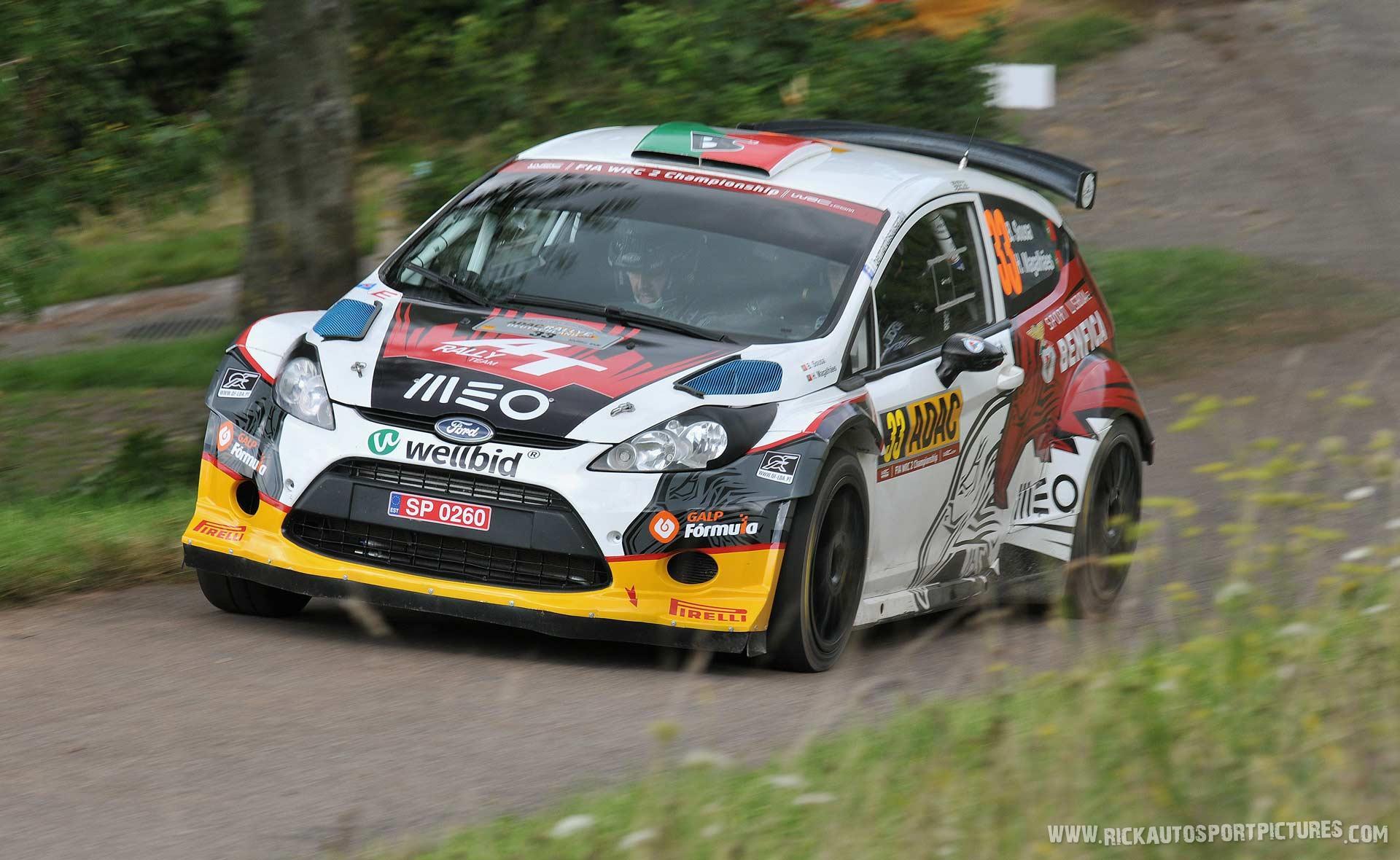 Bernardo Sousa Deutschland Rally 2014