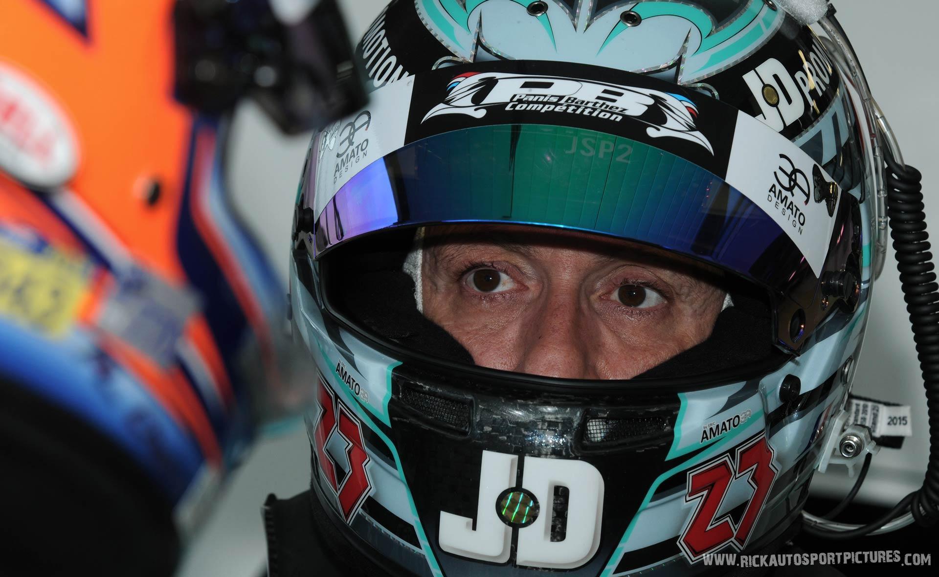 Fabien Barthez Silverstone 2016