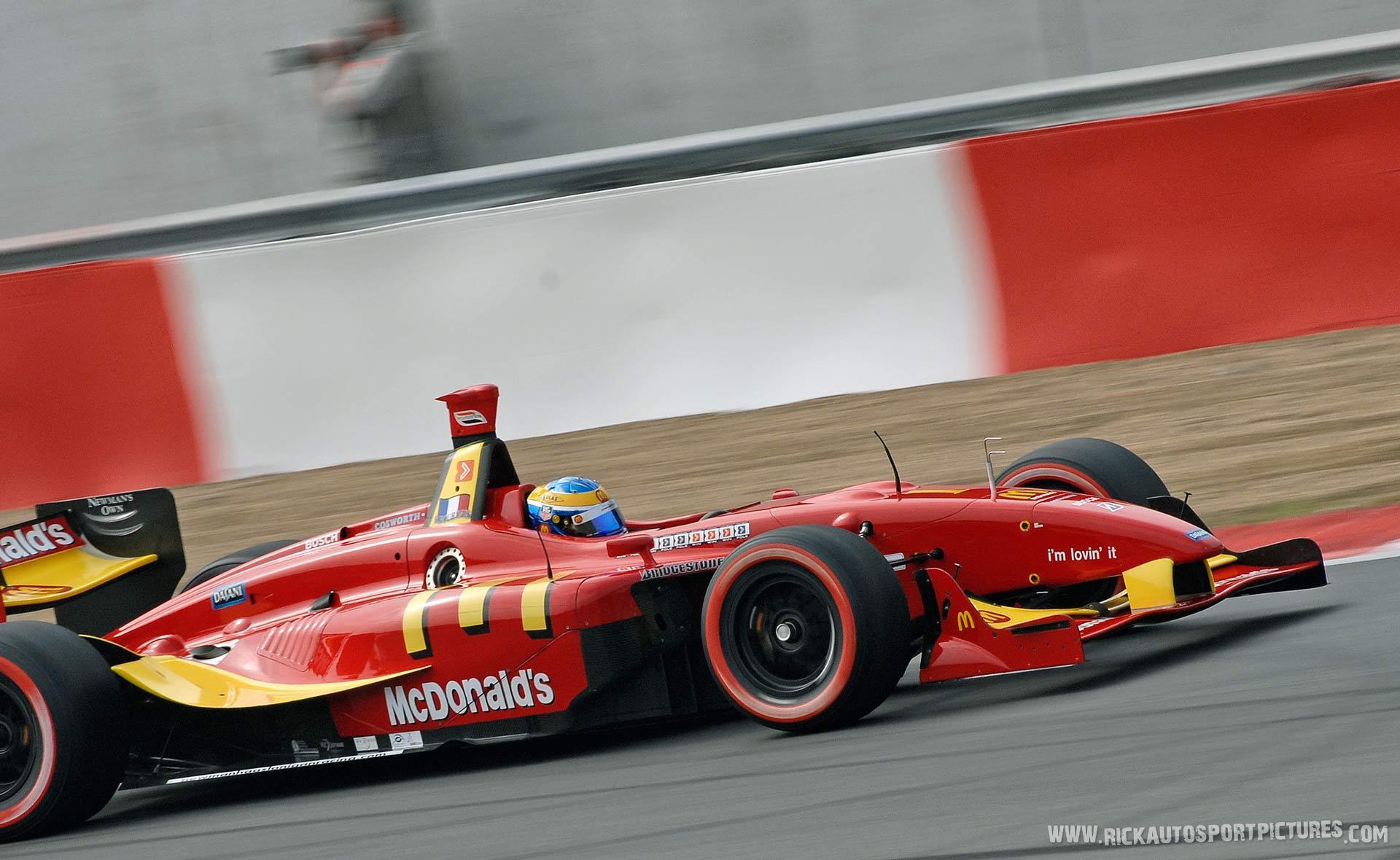 Sebastien Bourdais Champcar 2007