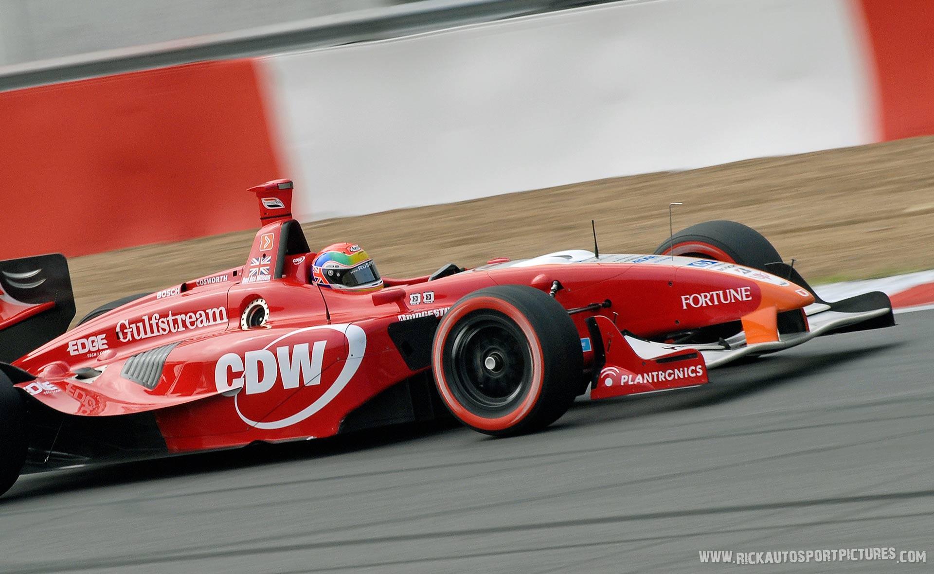 Justin Wilson Champcar 2007