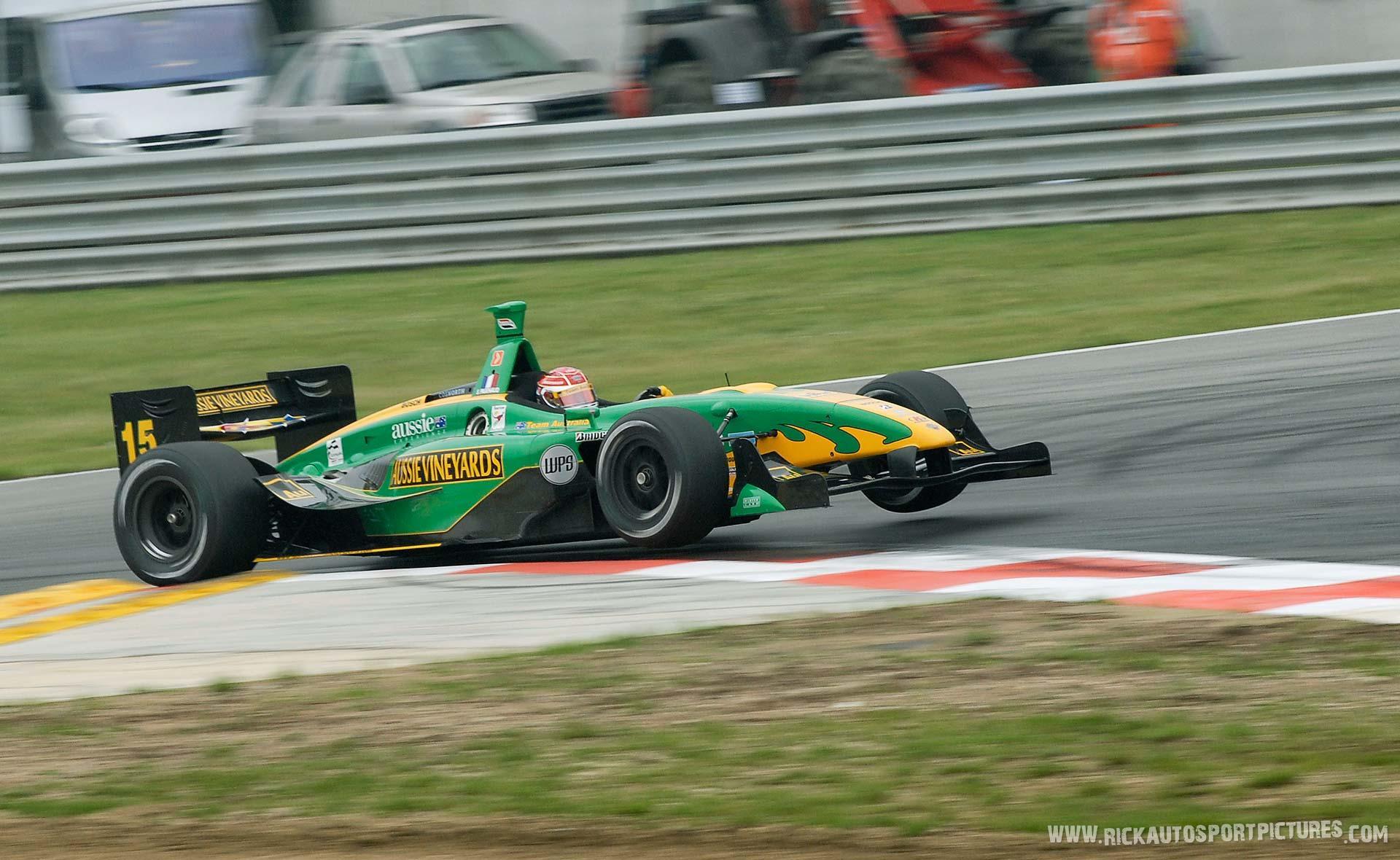 Simon Pagenaud Champcar 2007