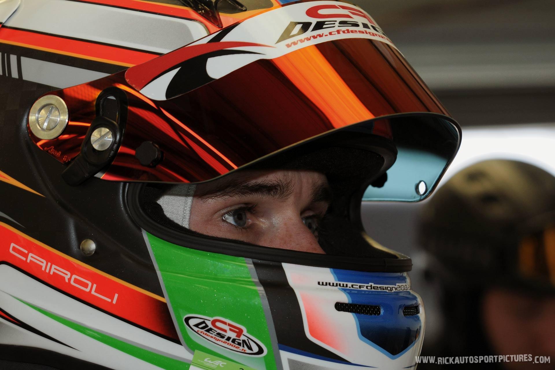Matteo Cairoli Silverstone 2017
