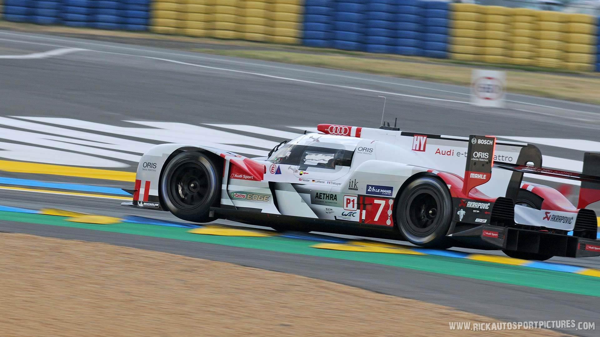 Audi Sport Team Joest Le Mans 2015