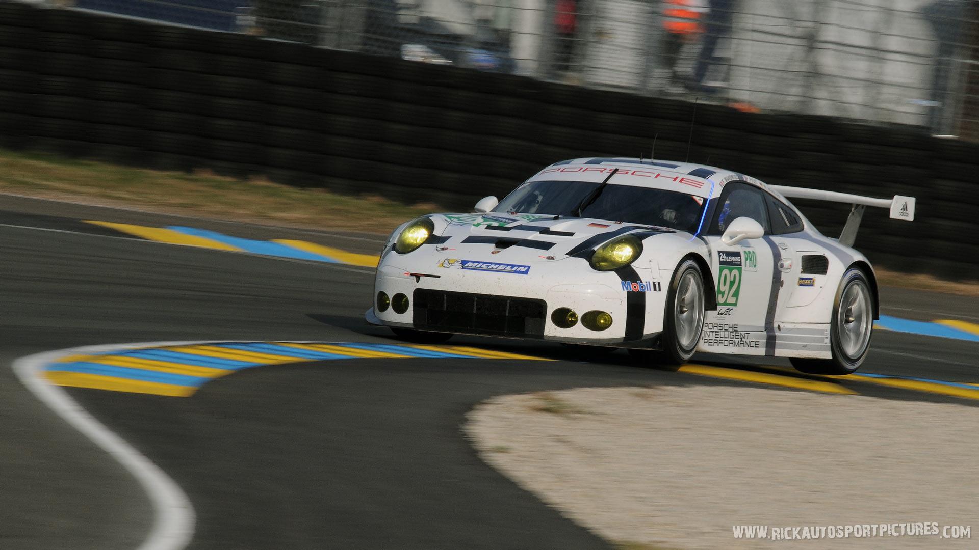 Porsche Manthey Le Mans 2015