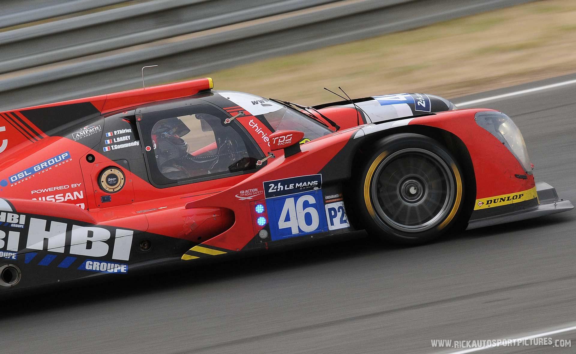 Pierre Thiriet Le Mans 2015