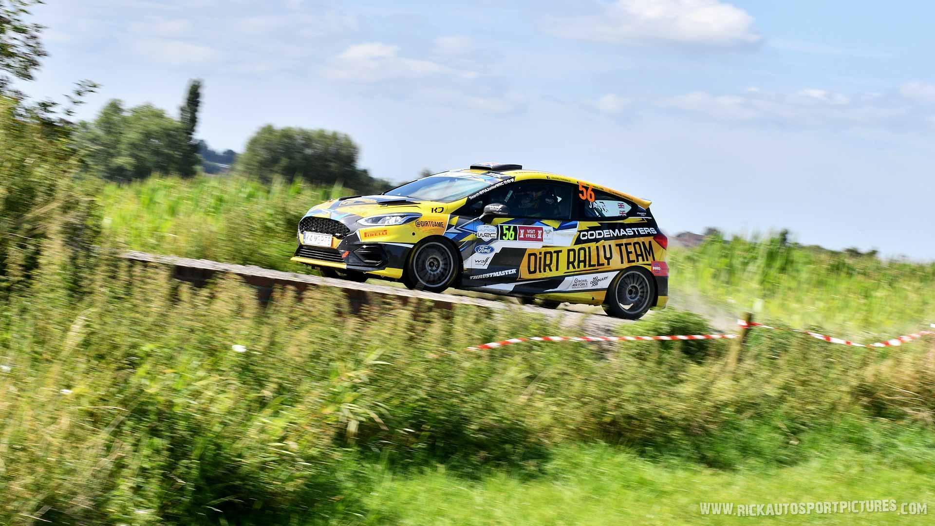 Jon Armstrong Ypres Rally 2021