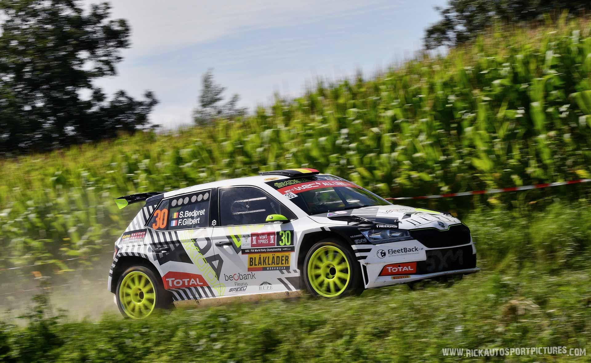 Sebastien Bedoret ypres ieper rally 2021