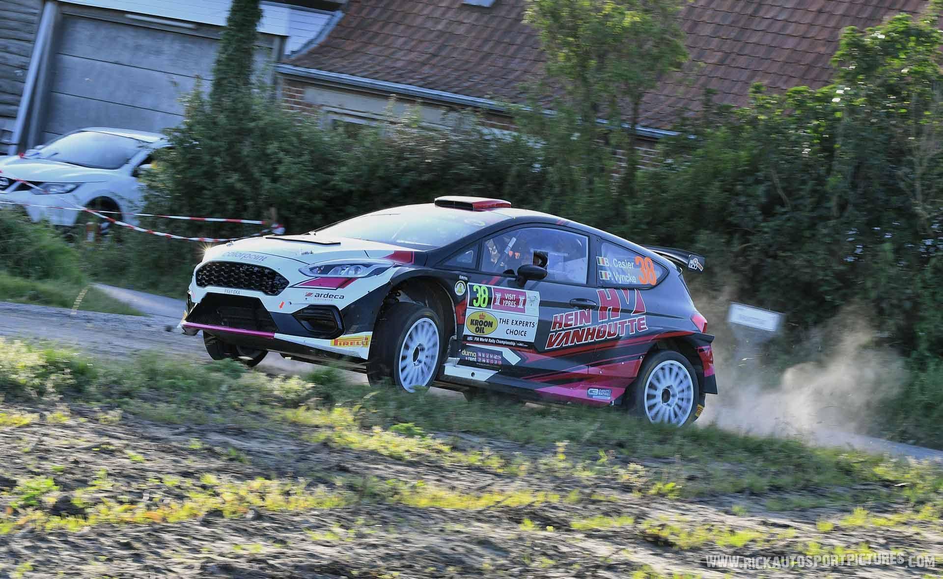 Bernd Casier Ypres Ieper Rally 2021