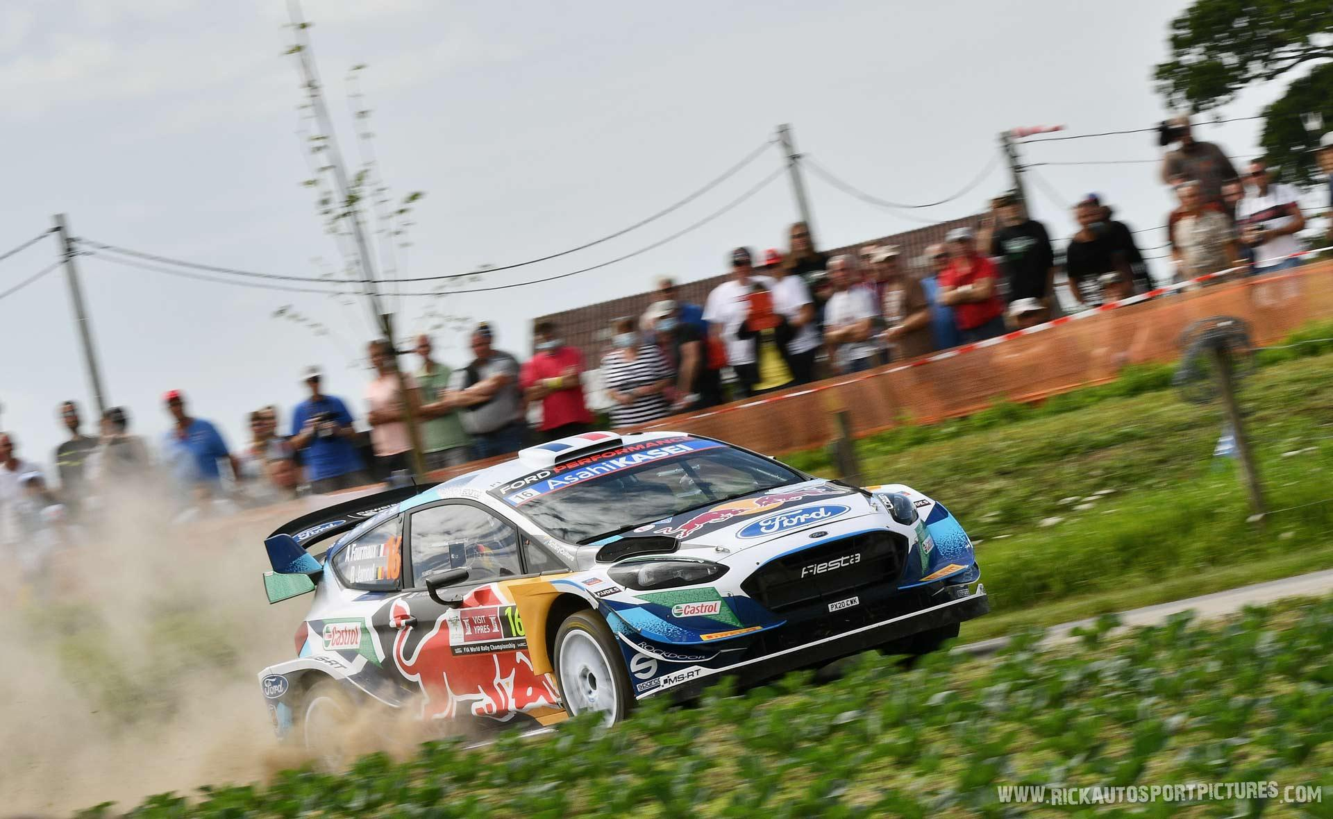 Adrien Fourmaux Ypres Ieper Rally 2021