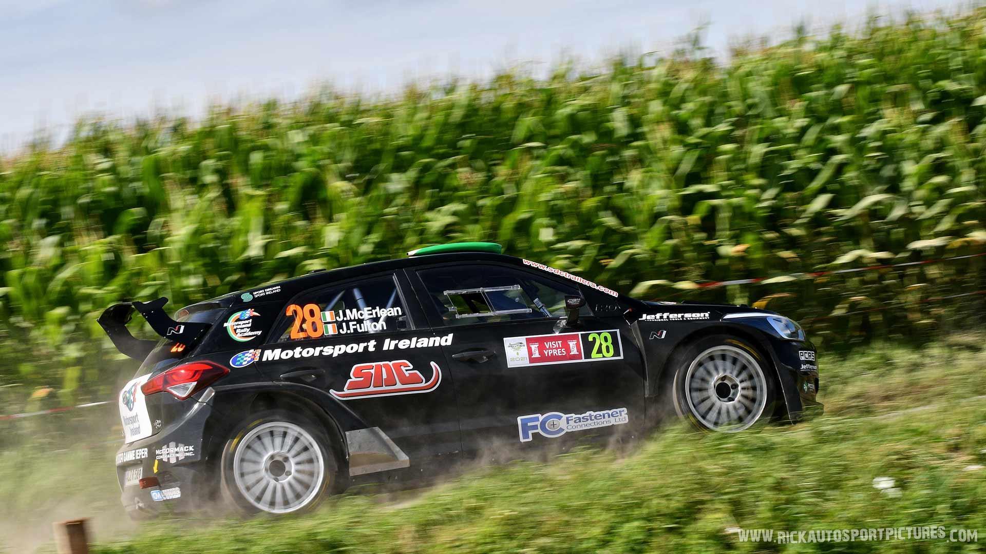 Josh McErlean Ypres Rally 2021