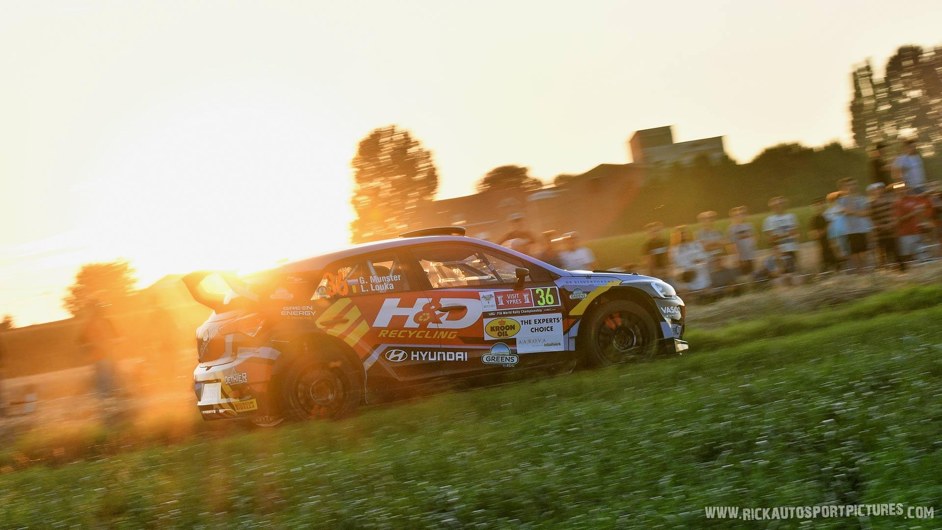 Gregoire Munster Ypres Ieper Rally 2021