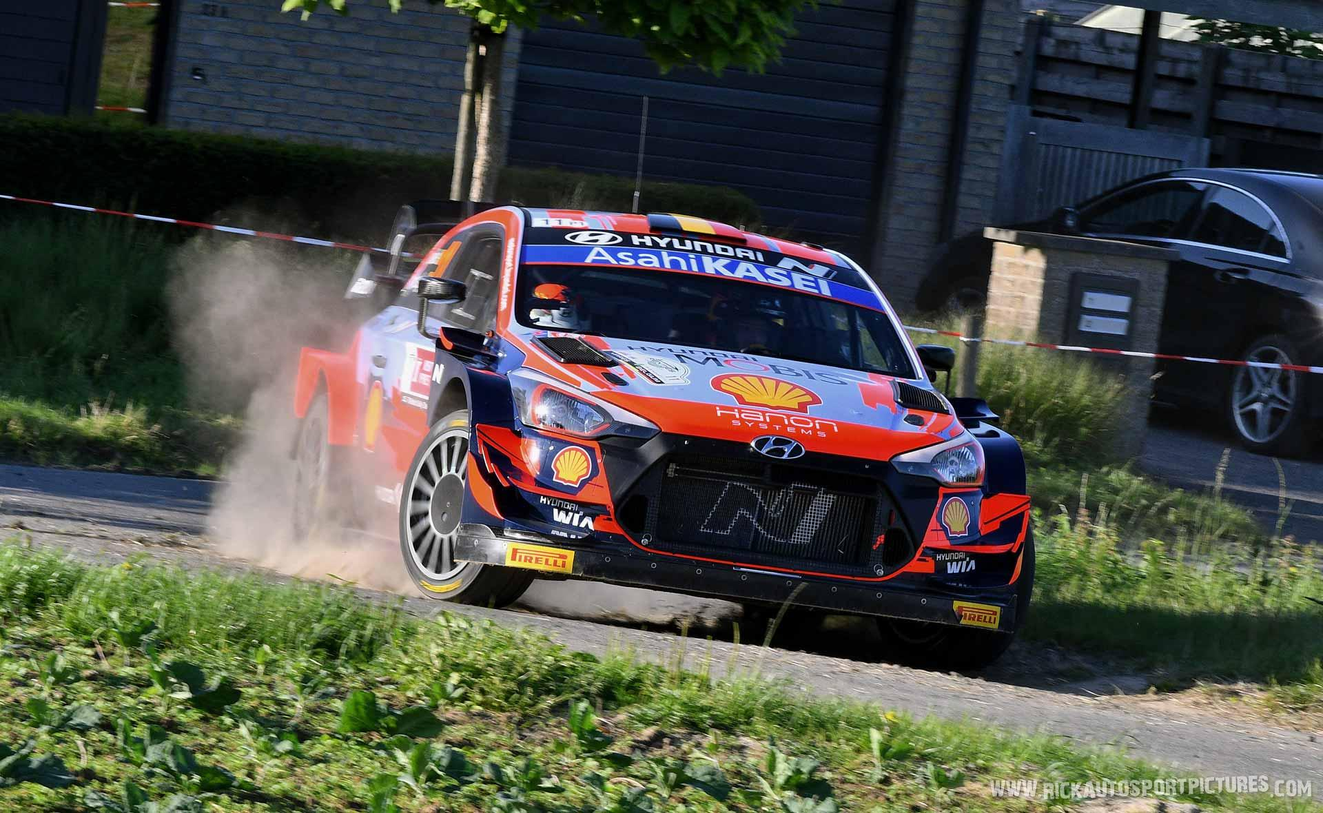 Thierry Neuville Ypres Ieper Rally 2021
