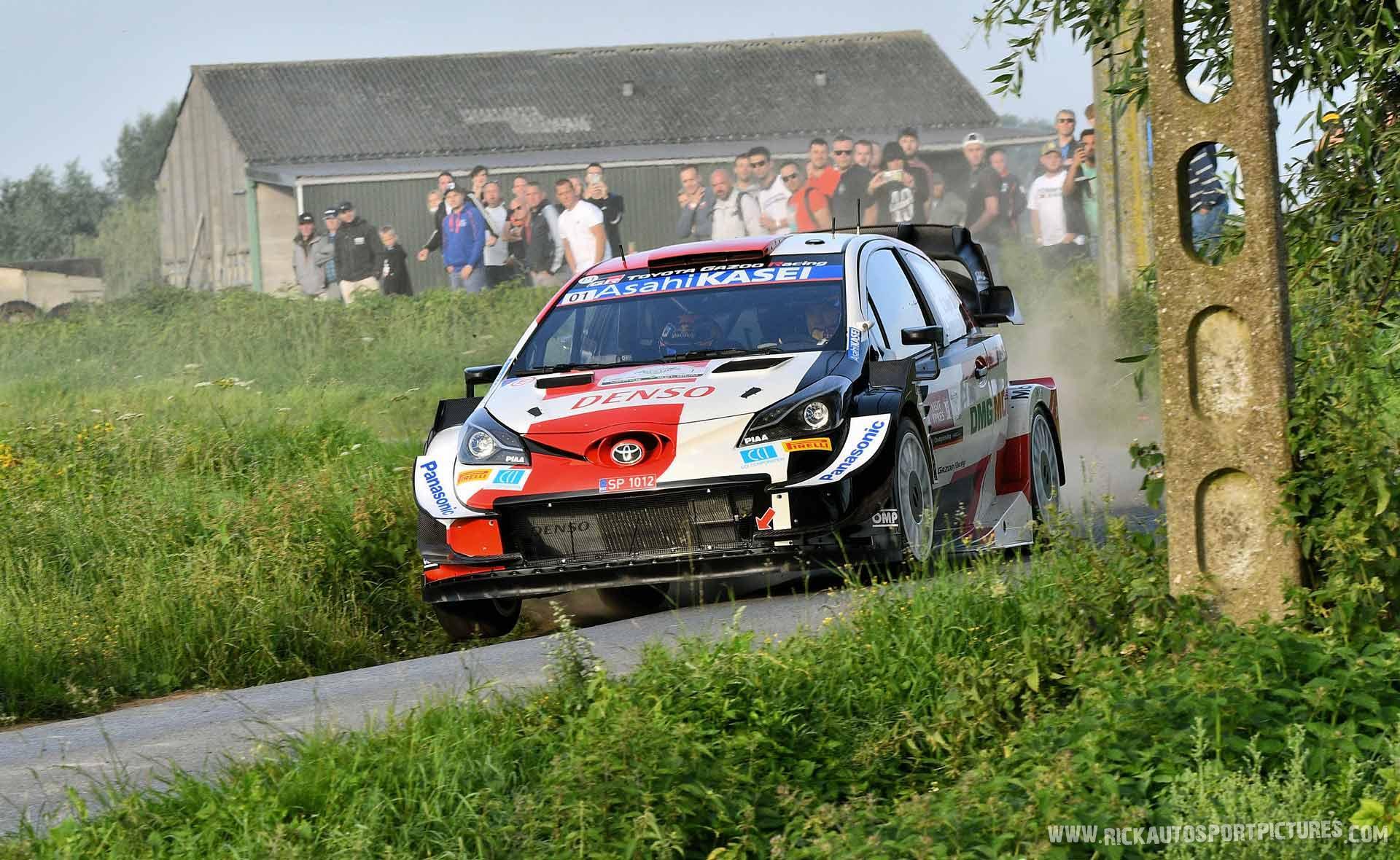Sebastien Ogier Ypres Ieper Rally 2021