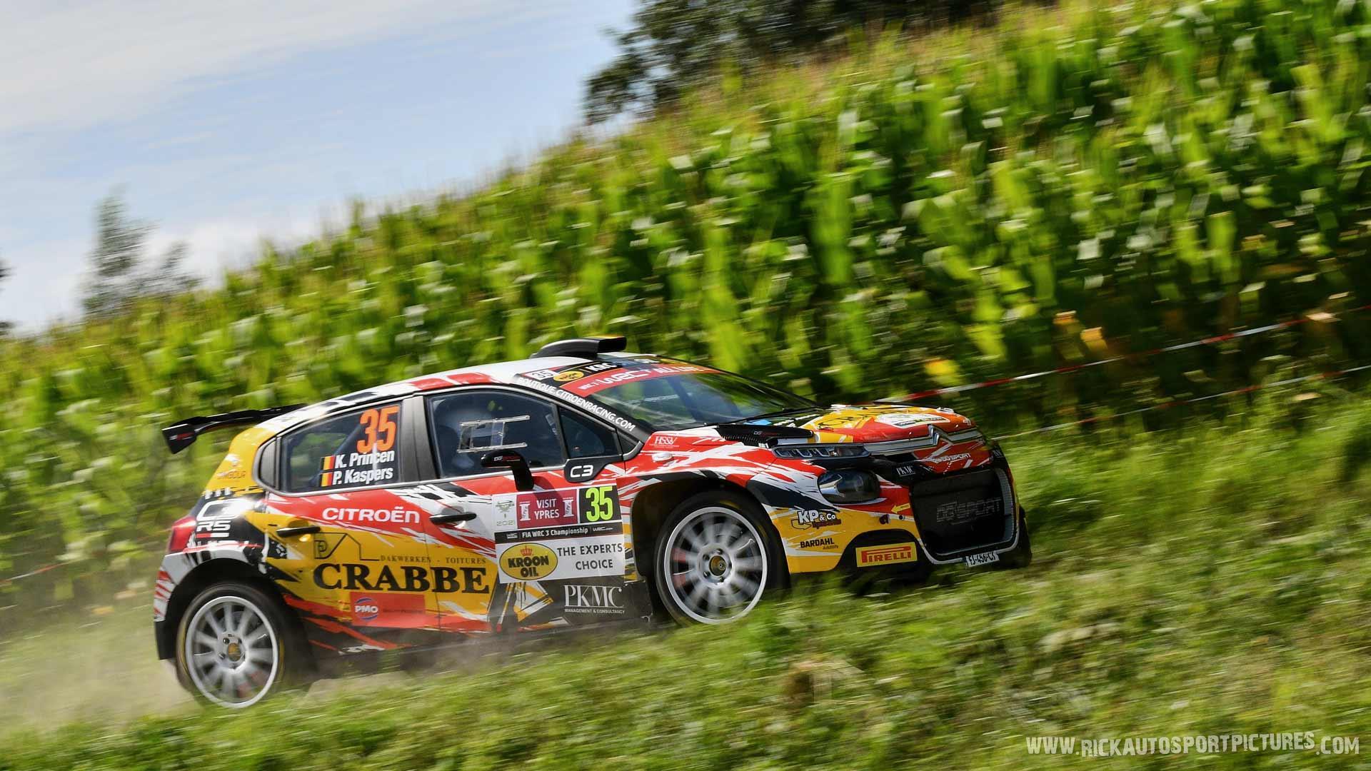 Kris Princen Ypres Ieper Rally 2021