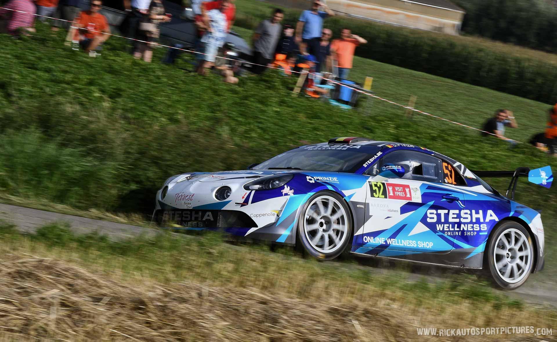 Stefaan Prinzie Ypres Ieper Rally 2021