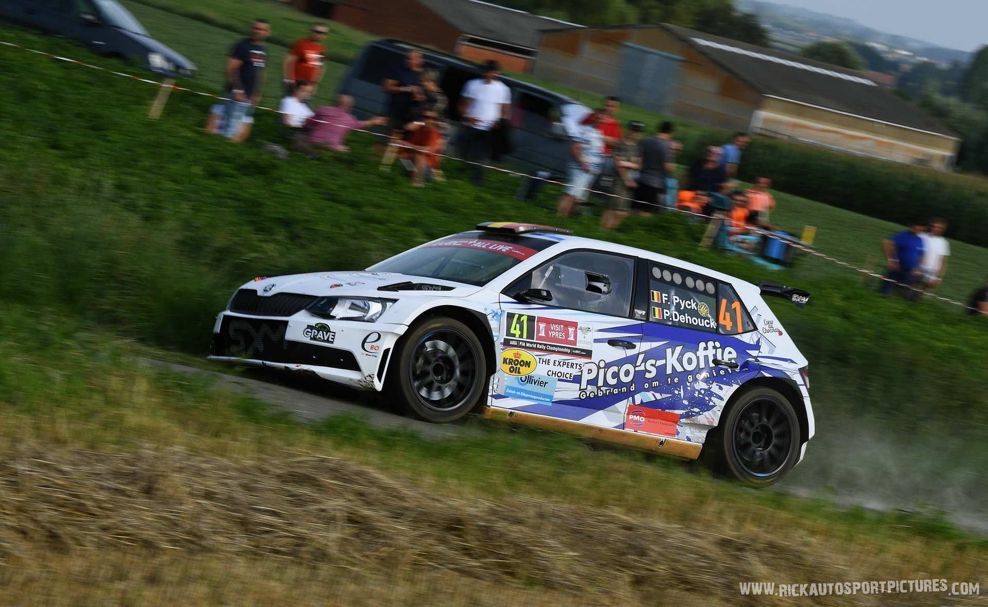 Filip Pyck ypres ieper rally 2021